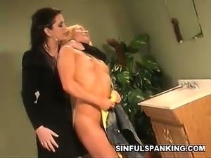 Racy Otk Spanking