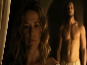 Alexandra Neldel topless showing her excellent breasts as