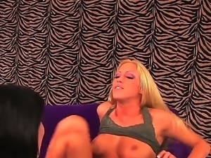 Cassie Young and Mindy Main are two horny babes eager to play and have...