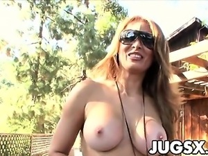 Monique Fuentes gets her pussy filled