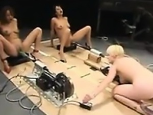 Squirting Sluts Fucked By Machines