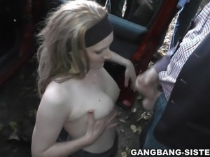 Another hot dogging night. This is me once again, getting gang banged by lots...