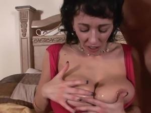 Alia Janine great breasts cummed