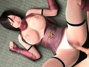 3D hentai tittyfuck