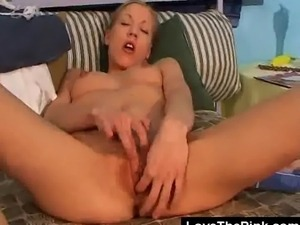 We have this petite ans small tit babe Sue on this clip as she gets feisty...