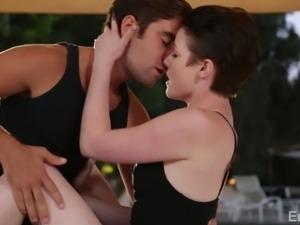 sexy couple has erotic sex