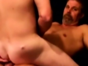 Gaystraight hairy bear assfucked deeply