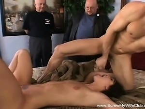 Redhead Decides To Try Swinging For Hubby