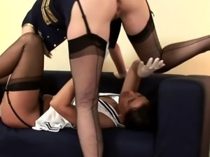 Classy british mature sixtynines with young babe
