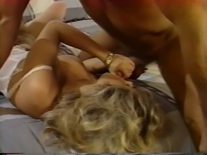 Angela Baron & Victoria Paris threesome with Randy West