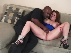 black meat for this redhead granny @ horny grannies love to fuck #05