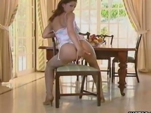 Sexy Slut Angel Dark Masturbation