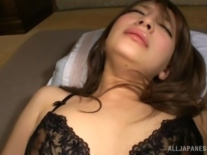 she gets warmed up with a vibrator