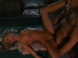 Blonde Beauty Enjoying A Big Cock