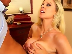 Stylish guy Tyler Nixon gets off together with his exquisite lover Julia Ann...