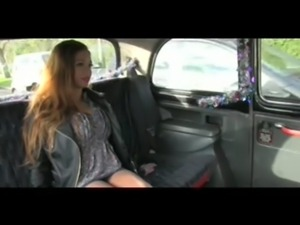 FakeTaxi Feisty customer tries to get out of sucking cock free