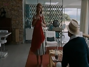 Amber Heard smoking cigarette while showing off amazing