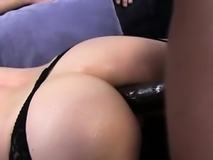 Femdom babe ass fucked after bj