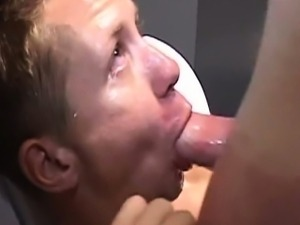 Boytoy Swallows Huge Cumshots