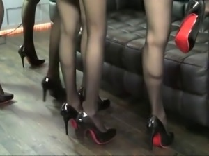 Japanese Black High Heel Fetish