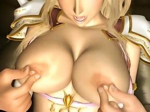 3D porn blond