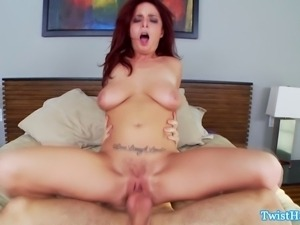 Big titted Ashlee Graham doggystyle sex rough and harsh