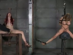 Master punishing her slaves with extreme BDSM