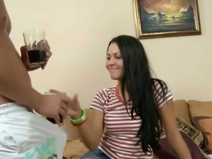 Lustful adorable teen screwed by her teacher