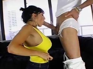 Ricki White vs HUGE cock