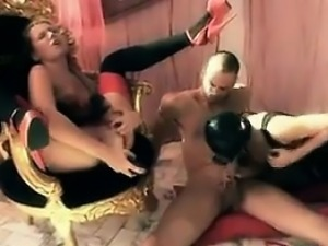 Anal Fun In A Threesome