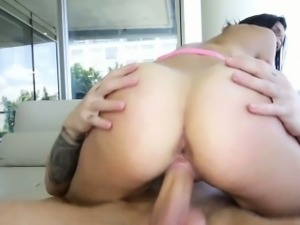 Teen creampied in full