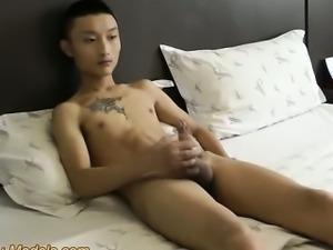 Slim Boy With Monster Big Cock Jerk Off