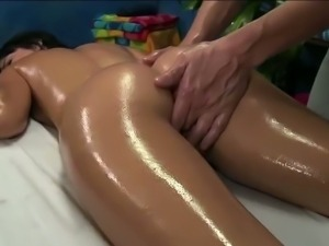 Erotic and oily massage sex for Mandy
