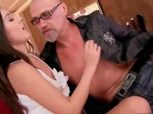 Naughty Teens and Horny Grandpa