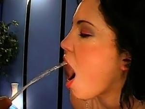 Guy chowder feasting