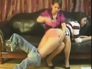 Teen Girl Getting Spanked