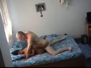 Old man fucks asian prostitute