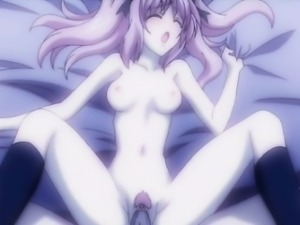 Hentai girl gets caught and fucked by monster