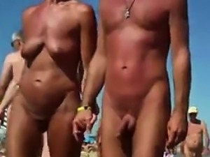 Spying On People At A Nude Beach
