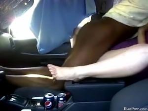 Fucking white slut in the truck