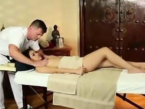 Asian babe gets tits massaged