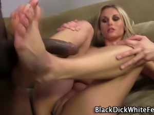 White foots black cock