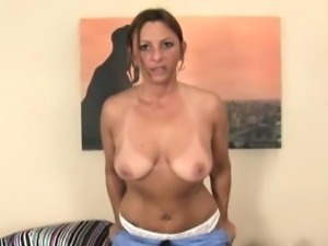 BBW cougar squirted with cum