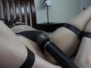 Ramona Vain - Belt Bondage Orgasm Struggle