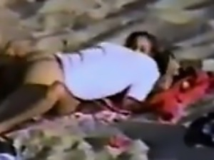 Couple Fucking At The Local Beach