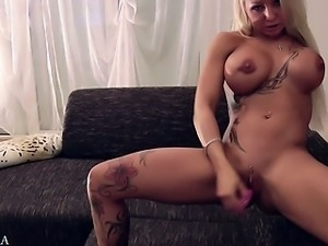 German Amateur Star Sexy Cora DP Anal Dirty-Talk