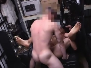 Hot stud having his ass licked and fucked
