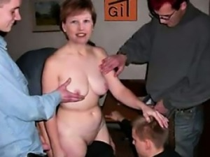 Uncensored taboo video of Francoise Moreau groped fucked