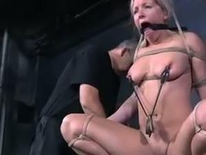 Pain-loving slut Dia punished harshly by PD