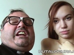 puta locura priest damian takes advantage of latina schoolgirl